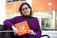 Vanesa Amat, autora de L'abecedari dels oficis ©EUMO - SAV UVic
