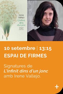 Signatures L'Infinit dins d'un jonc