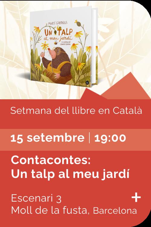 Agost 2021 Setmana llibre català - Contacontes