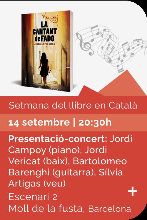 Agost 2021 Setmana llibre català - La cantant de fado