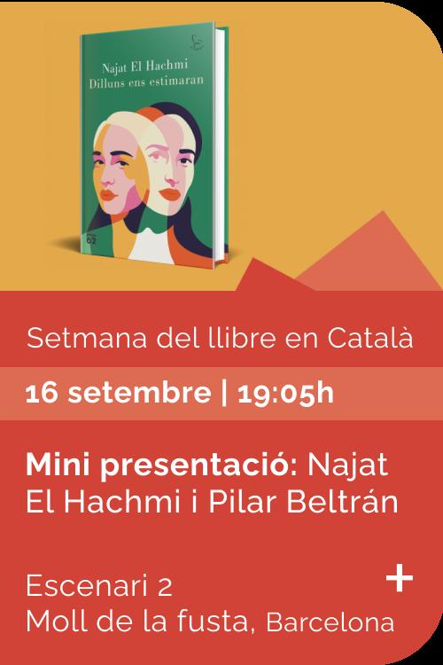 Agost 2021 Setmana llibre català - Dilluns ens estimaran