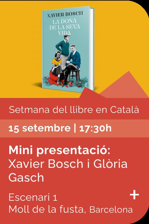Agost 2021 Setmana llibre català - La dona de la seva vida
