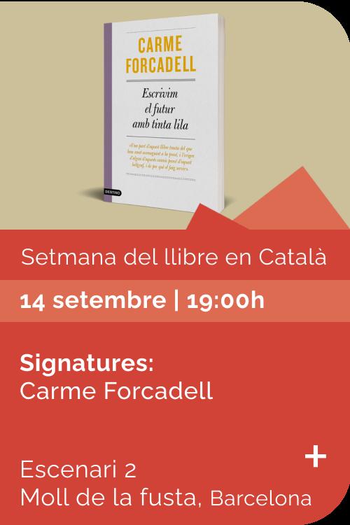 Agost 2021 Setmana llibre català - Escrivim el futur amb tinta lila