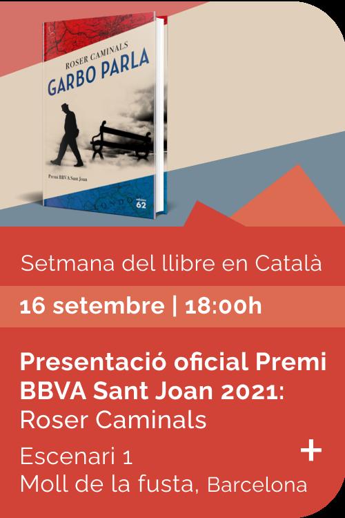 Agost 2021 Setmana llibre català - Garbo parla