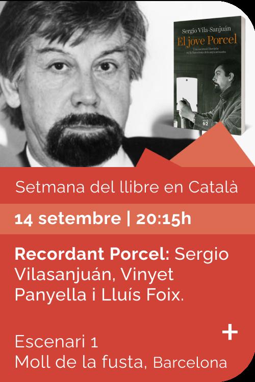 Agost 2021 Setmana llibre català - El jove Porcel
