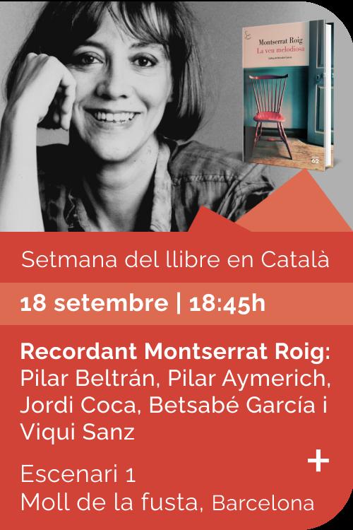 Agost 2021 Setmana llibre català - La veu melodiosa